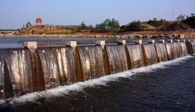 Dams scenery Royalty Free Stock Photos