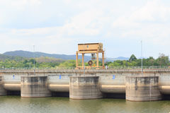 Dams for water storage Stock Image