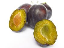Damsons Royalty Free Stock Images