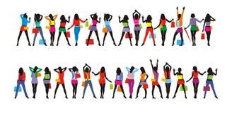 damy (1) odzież s Ilustracja Wektor