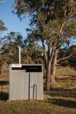 Damy łazienki toaletowy outhouse zdjęcia royalty free