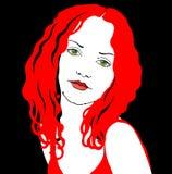 damy czerwień Zdjęcie Royalty Free