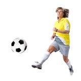 damy piłka nożna Zdjęcia Royalty Free