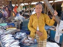 Damy sprzedawania ryba Obraz Royalty Free