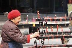 damy stare taoist świątyni pracy Zdjęcia Royalty Free