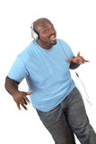 Dança à música Imagens de Stock
