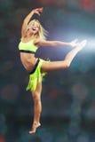 Dança acrobática foto de stock royalty free