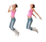 Dança adolescente Imagens de Stock Royalty Free