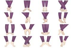 Dança aeróbia Imagens de Stock