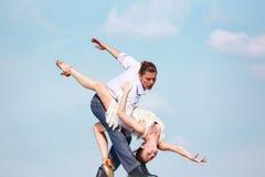 Dança apaixonado Foto de Stock Royalty Free