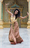 Dança asiática Foto de Stock Royalty Free