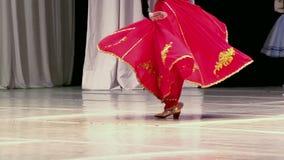 Dança asiática video estoque