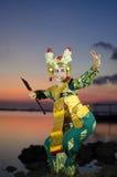 Dança Bali de Legong foto de stock royalty free