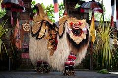 Dança Bali Indonésia de Barond foto de stock