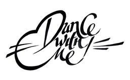 Dança comigo Imagens de Stock