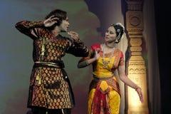 Dança da Índia Fotos de Stock