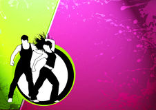 Dança da aptidão Imagens de Stock