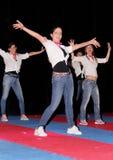 Dança da aptidão do país Imagem de Stock