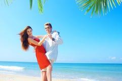 Dança da costa Imagens de Stock