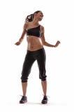 Dança da ginástica aeróbica Fotografia de Stock