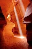 Dança da luz Imagens de Stock Royalty Free