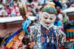 Dança da máscara Imagens de Stock Royalty Free