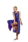 Dança da menina Fotografia de Stock