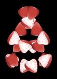 Dança da morango Imagem de Stock Royalty Free