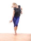 Dança da mulher Foto de Stock Royalty Free