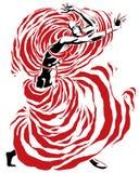 Dança da paixão Imagem de Stock