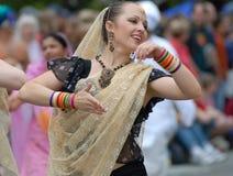 Dança da rua Fotografia de Stock Royalty Free
