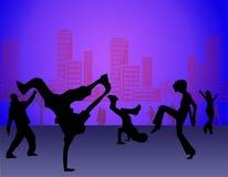Dança da rua Imagens de Stock Royalty Free