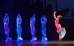 Dança da sereia imagem de stock