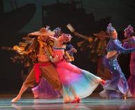 Dança da sereia imagem de stock royalty free