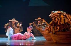 Dança da sereia foto de stock royalty free