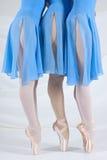 Dança das bailarinas Imagem de Stock Royalty Free