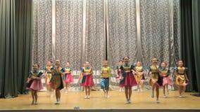 A dança das crianças