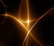 Dança das luzes. (fractal02f2) Fotografia de Stock Royalty Free