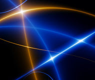 Dança das luzes, fractal02w Foto de Stock Royalty Free