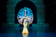 Dança de Avalokitesvara imagens de stock royalty free