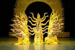 Dança de Avalokitesvara fotos de stock