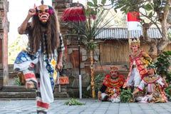 Dança de Barong Imagem de Stock