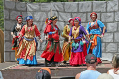 Dança de barriga Foto de Stock Royalty Free
