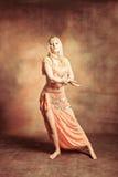 Dança de barriga Fotografia de Stock Royalty Free