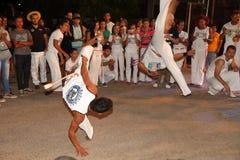 Dança de Capoeira e festival de artes marciais em Petrolina Brasil Fotos de Stock Royalty Free