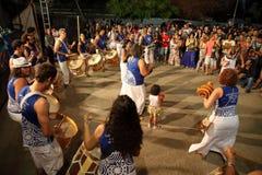 Dança de Capoeira e festival de artes marciais em Petrolina Brasil Fotografia de Stock