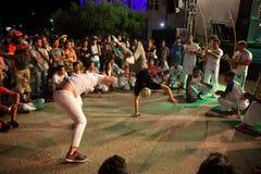 Dança de Capoeira e festival de artes marciais em Petrolina Brasil Fotos de Stock