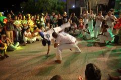 Dança de Capoeira e festival de artes marciais em Petrolina Brasil Imagem de Stock