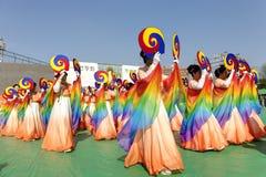 Dança de Coreia Foto de Stock Royalty Free
