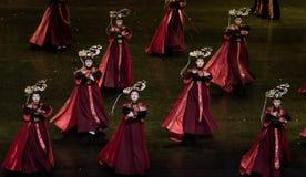 Dança de corte da dança 6-Classical de Geiger imagem de stock royalty free